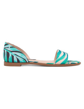 Maris Flat D'orsay Sandals by Nine West