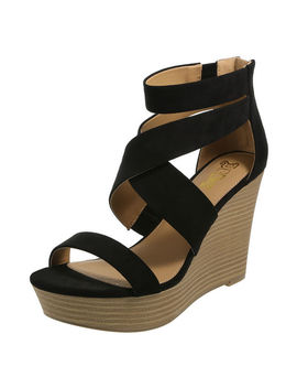 Women's Petula Platform Wedge Sandal by Learn About The Brand Brash