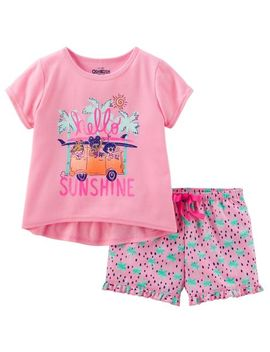2-piece-sunshine-pjs by oshkosh