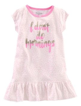 Glitter Mornings Nightgown by Oshkosh