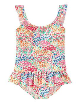 Osh Kosh Floral Swimsuit by Oshkosh