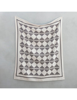 Woven Mountains Cotton Throw by Terrain