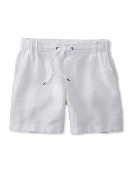 Women's Premium Washable Linen Shorts by L.L.Bean