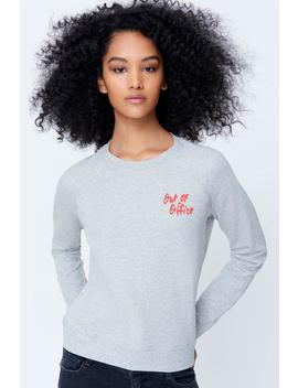 Out Of Office Pocket Sweatshirt by Rebecca Minkoff