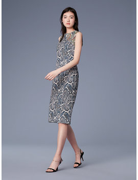 Sleeveless Sheath Dress by Dvf