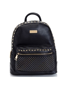 Bebe Jett Studded Zip Around Dome Backpack by Burlington