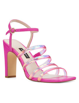 Laxian Strappy Sandals by Nine West