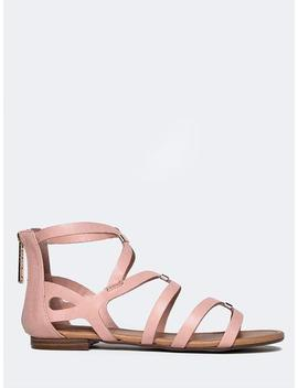 Low Heel Strappy Sandal by Zooshoo