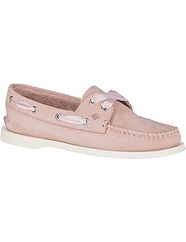 Women's Authentic Original Satin Lace Boat Shoe by Sperry
