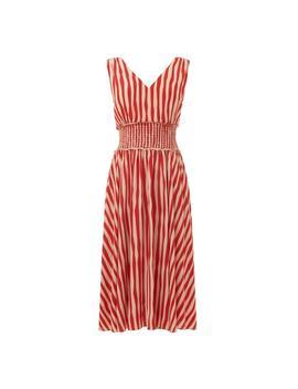 Ambery Red Stripe Dress by L.K.Bennett