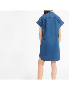 The Japanese Go Weave Light Drawstring Dress by Everlane