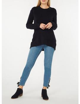 Navy Slouchy Oversized Jumper by Dorothy Perkins