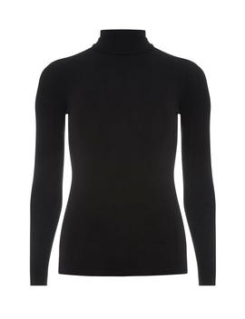 Black High Neck Top by Dorothy Perkins