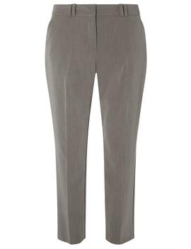 Grey Slim Tailored Ankle Grazer Trousers by Dorothy Perkins