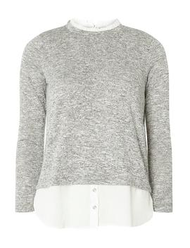 Grey 2 In 1 Top by Dorothy Perkins