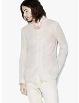 Stand Collar Shirt by John Varvatos