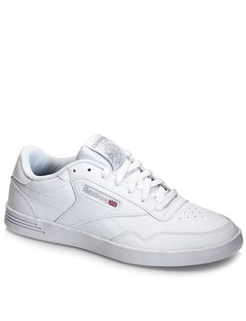 Reebok Mens Leather Casual Lace Up Sneaker by Burlington