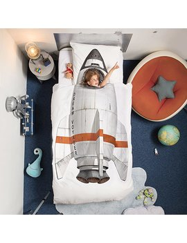 Rocket Duvet &Amp; Pillowcase Set by Peggy Van Neer And Erik Van Loo