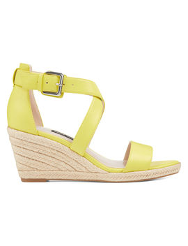 Jorgapeach Espadrille Wedges by Nine West