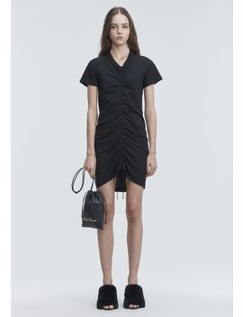 Gathered Front Dress by Alexander Wang