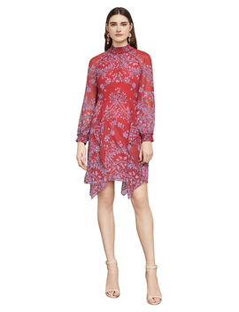 Fifi Porcelain Vines Dress by Bcbgmaxazria