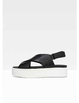 Weslan Leather Sandals by Vince