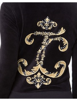 Interwoven Jc Velour Robertson Jacket by Juicy Couture