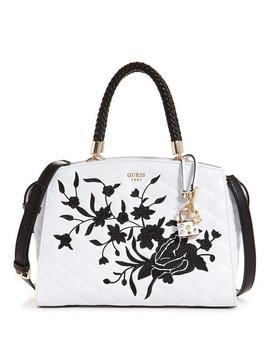 G Lux Quilted Dome Tote by Guess
