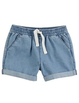 Pull On Denim Shorts by Carter's