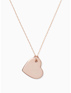 You Name It Heart Pendant by Kate Spade
