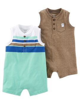 2 Pack Rompers by Carter's