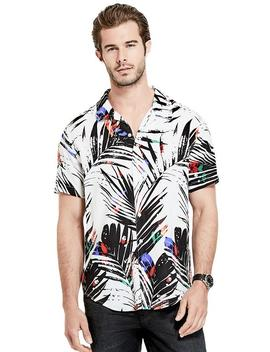 Neon Palm Shirt by Guess
