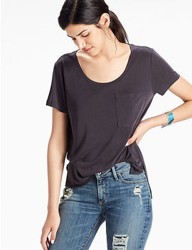 Sand Washed Tee by Lucky Brand