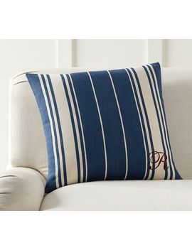 Coronado Stripe Pillow Cover by Pottery Barn