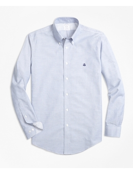 Non Iron Regent Fit Supima® Cotton Oxford Sport Shirt by Brooks Brothers