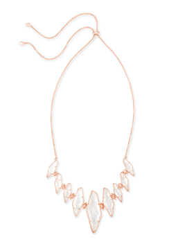 Berniece Collar Necklace In Ivory Pearl by Kendra Scott