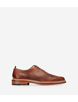 Washington Grand Unlined Laser Wingtip Oxford by Cole Haan