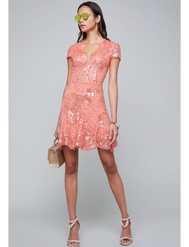 Valorie Embellished Dress by Bebe