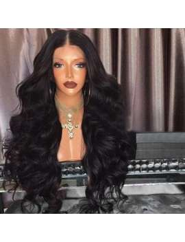 Middle Part Fluffy Loose Wave Long Synthetic Wig by Dress Lily