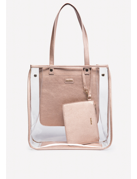 Natasha Clear Tote by Bebe