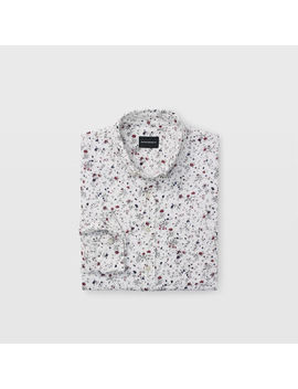 Slim Double Faced Floral Shirt by Club Monaco