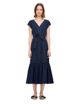 Poplin Midi Dress by Rebecca Taylor