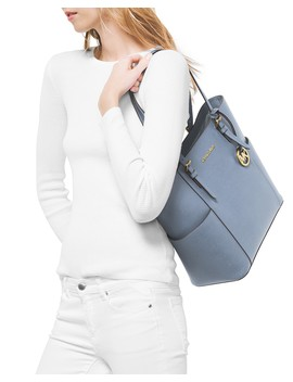 jet-set-large-leather-tote- by michael-michael-kors