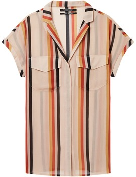 Sheer Longline Shirt by Scotch&Soda