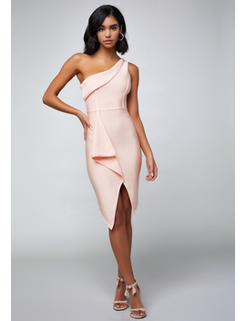 Draped Bandage Dress by Bebe