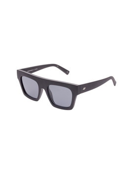 Subdimension Sunglasses In Black Rubber by Shop Bazaar