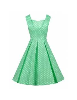 Vintage Polka Dot Pin Up Dress by Dress Lily