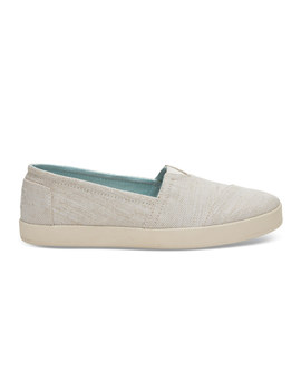 Natural Yarn Dye Women's Avalon Slip Ons by Toms