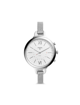 Hybrid Smartwatch   Q Annette Stainless Steel by Fossil