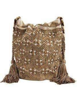 Abela Beaded Bucket Bag by Sam Edelman